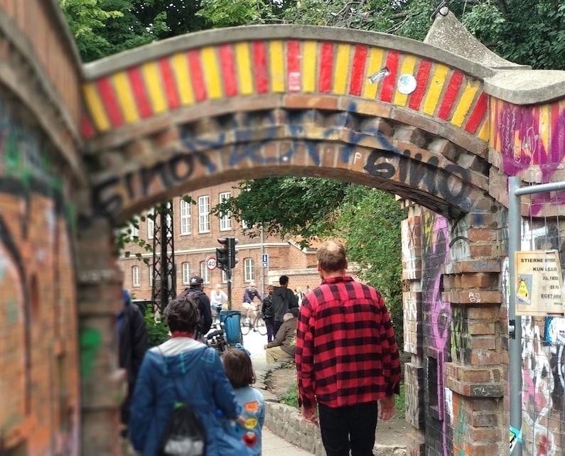 es seguro visitar Christiania