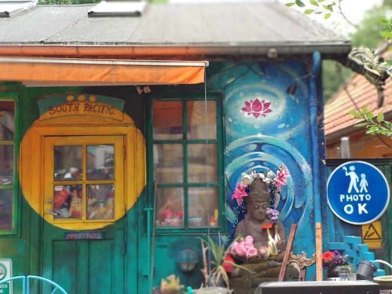 se pueden hacer fotos en Christiania