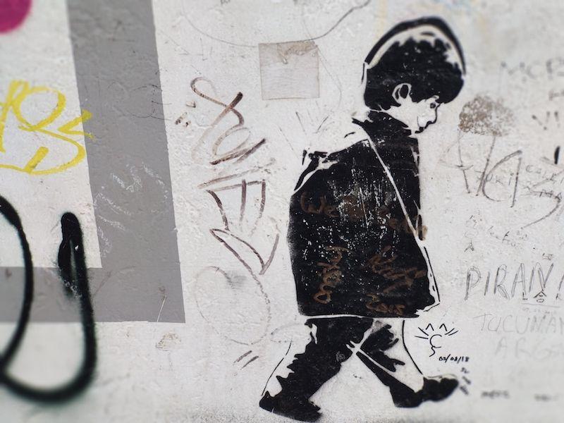 Ruta por el Muro de Berlín grafitis