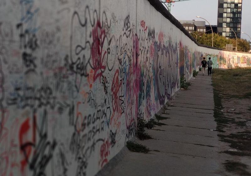 Ruta por el actual Muro de Berlín