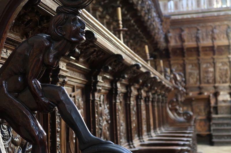 Sillas del coro de la catedral de Burgos