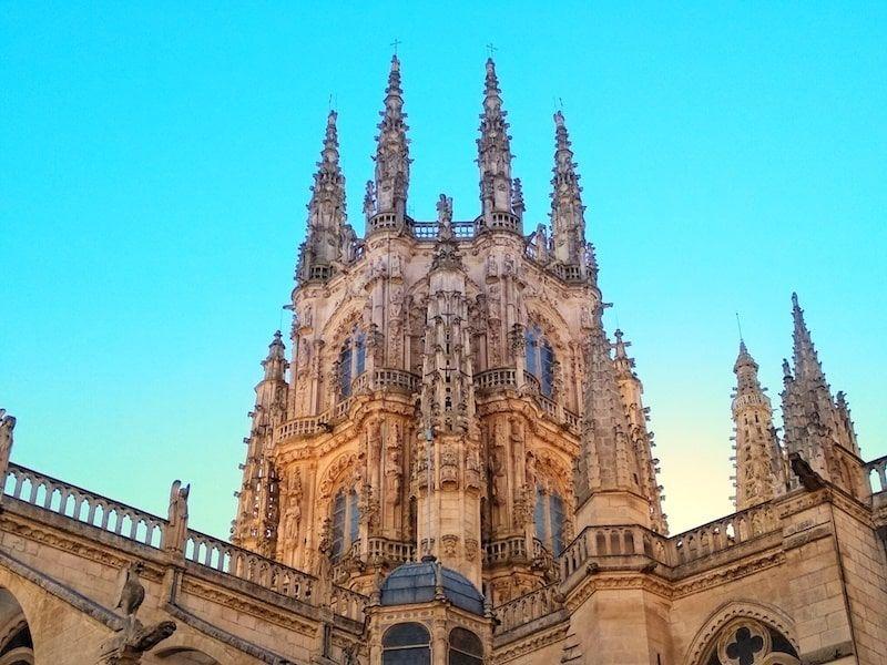 Cimborrio de la catedral de Burgos por fuera