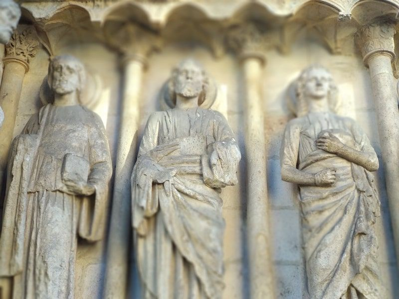las portadas de la catedral de burgos