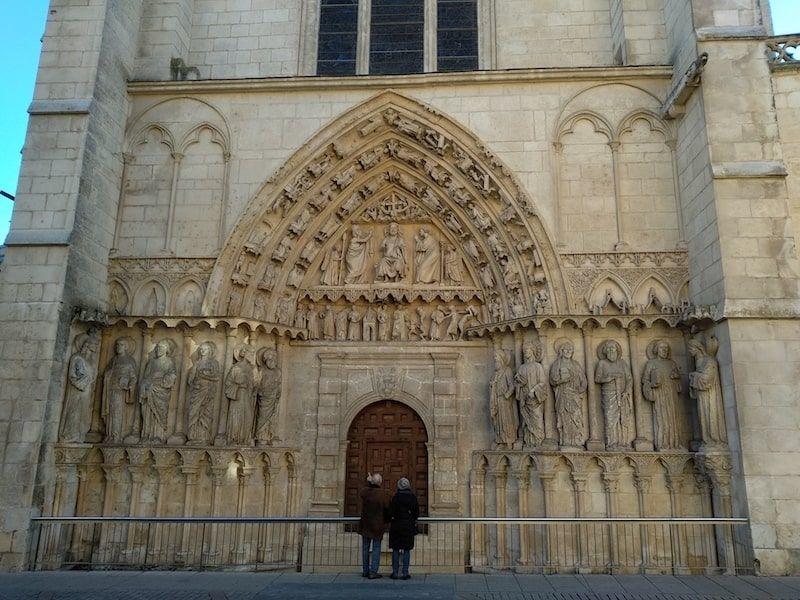 Puerta Coronería catedral de burgos