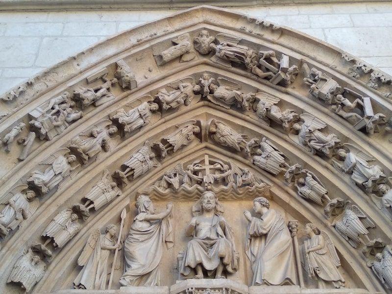 Los apostoles en la catedral de burgos