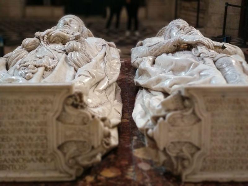 los condestables en la catedral de burgos