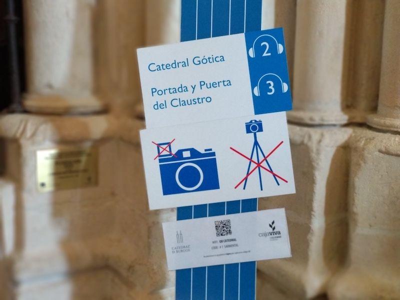 normas en la catedral de burgos