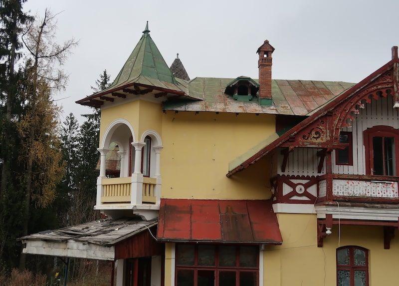 Casas típicas en Sinaia
