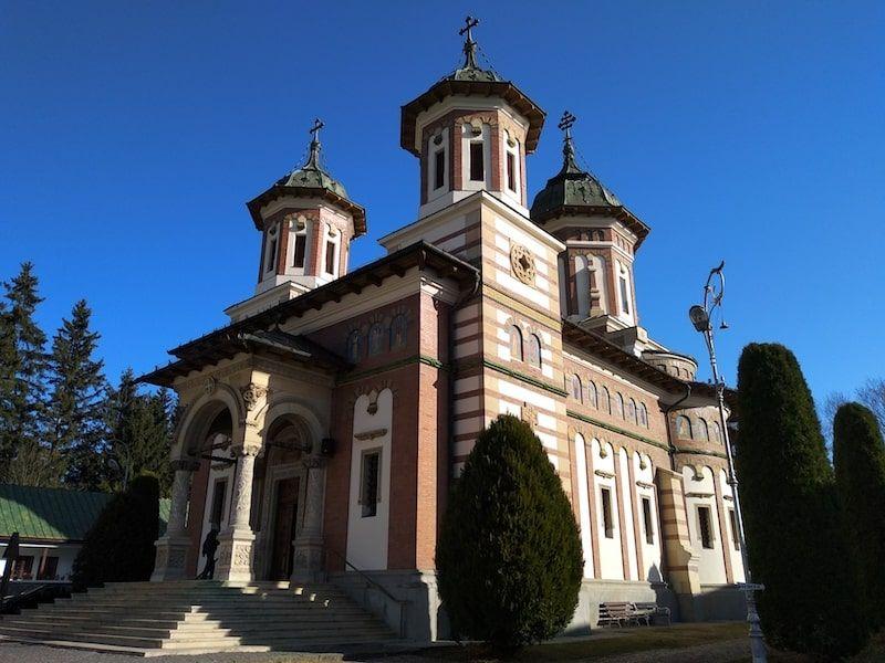 Iglesia ortodoxa en Sinaia