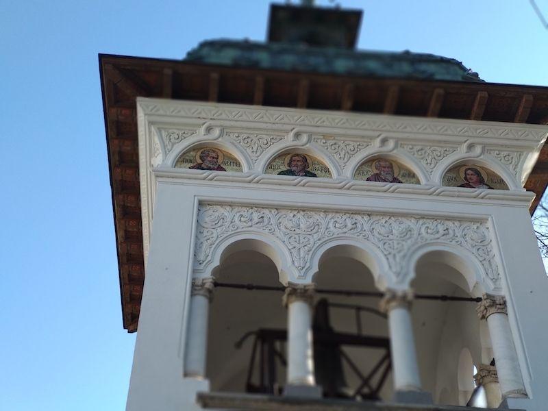 Campanario iglesia Sinaia