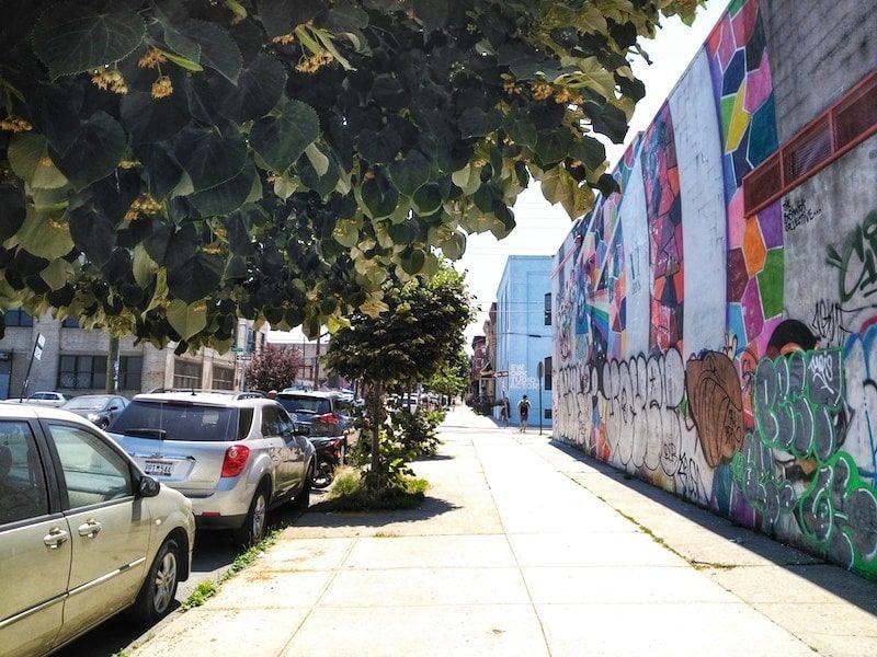 dónde ver street art en Brooklyn