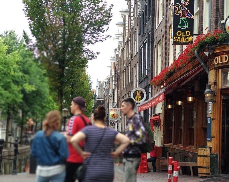planes en Ámsterdam con amigos