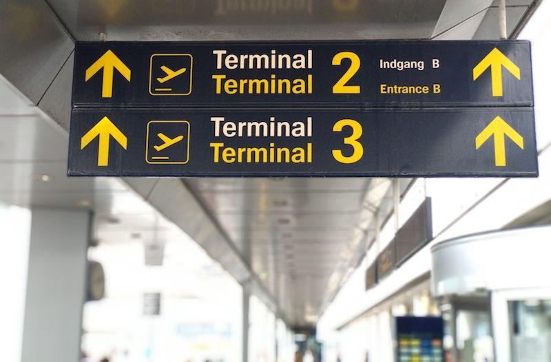 Terminales del Aeropuerto de Copenhague