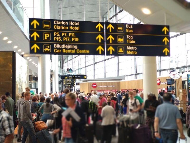 Aeropuerto de Copenhague llegadas