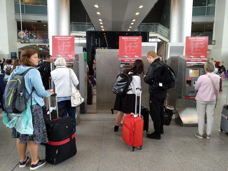 Aeropuerto de Copenhague comprar billetes
