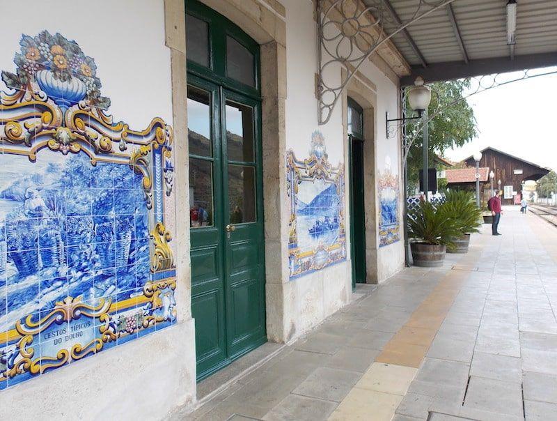 Estación Pinhao en el valle del douro