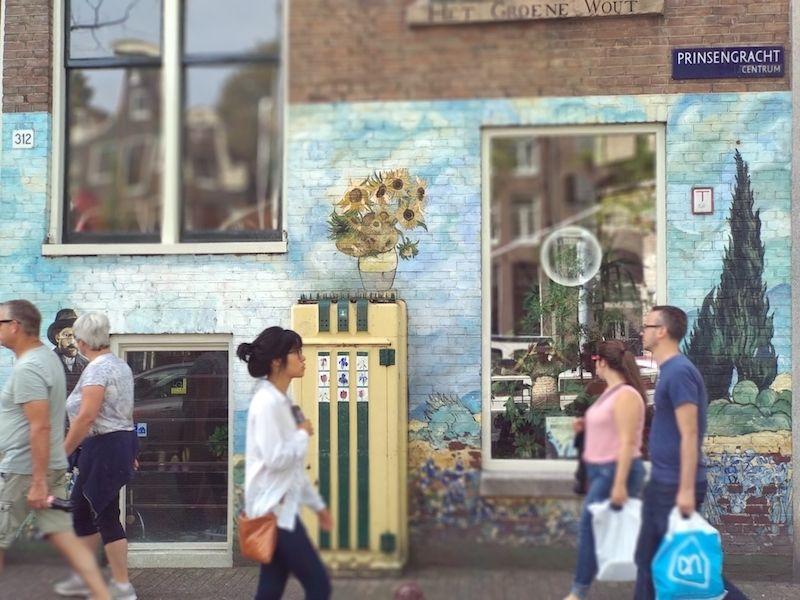 qué ver en las calles del centro de Ámsterdam