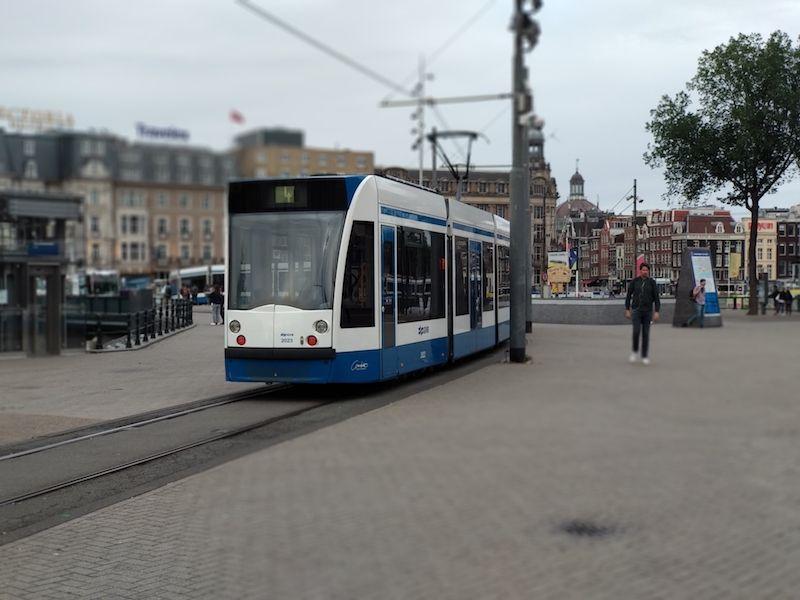 trasnporte en Ámsterdam