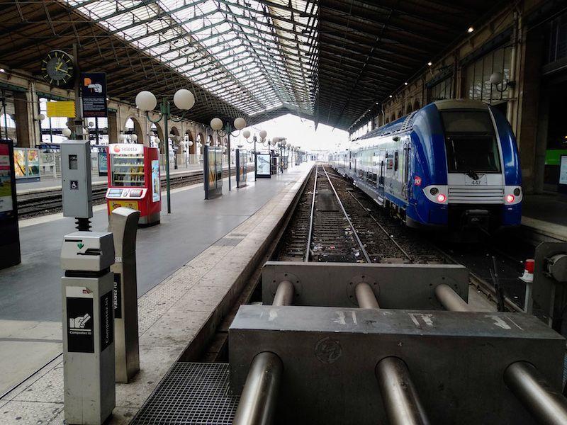 cómo llegar a París en tren