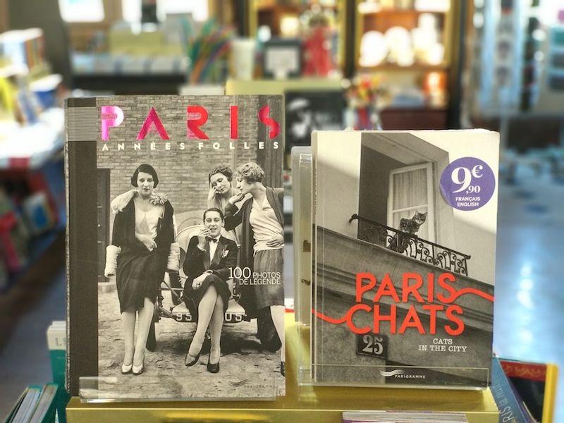 librerías en París