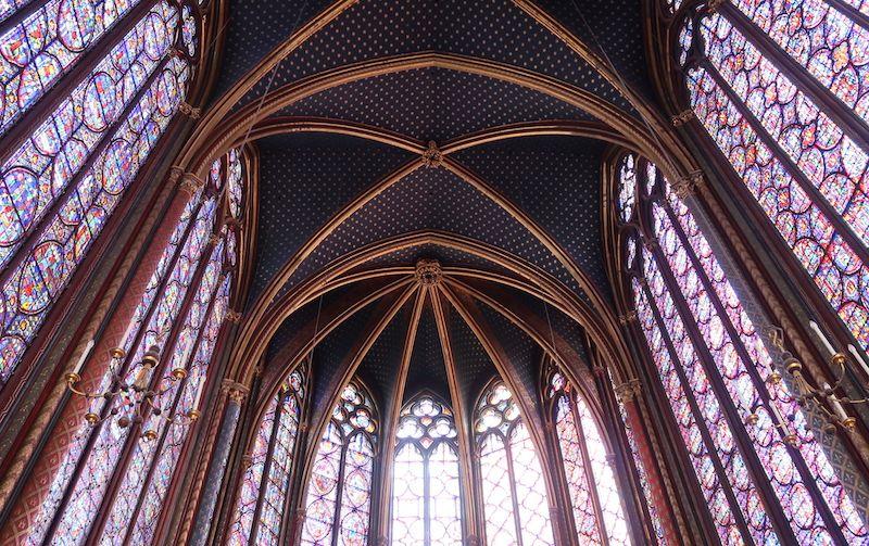 qué edificios góticos ver en París