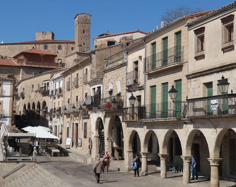 qué ver en la plaza mayor de Trujillo