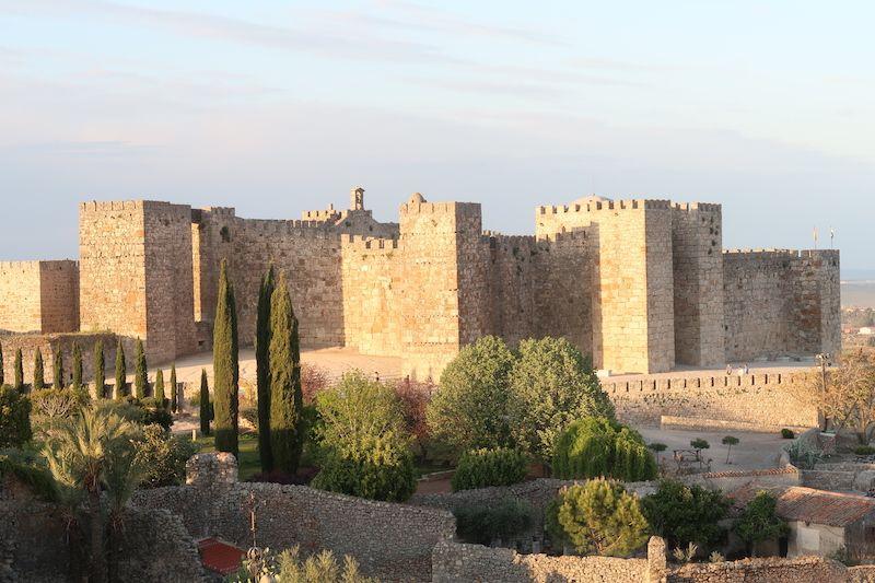 cuándo visitar el castillo de Trujillo