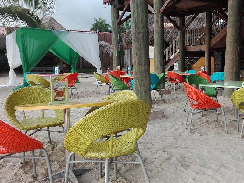 Bar de playa en Negril