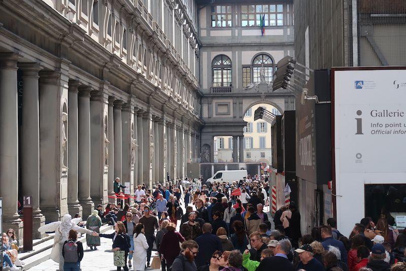 Dónde comprar las entradas para los Uffizi