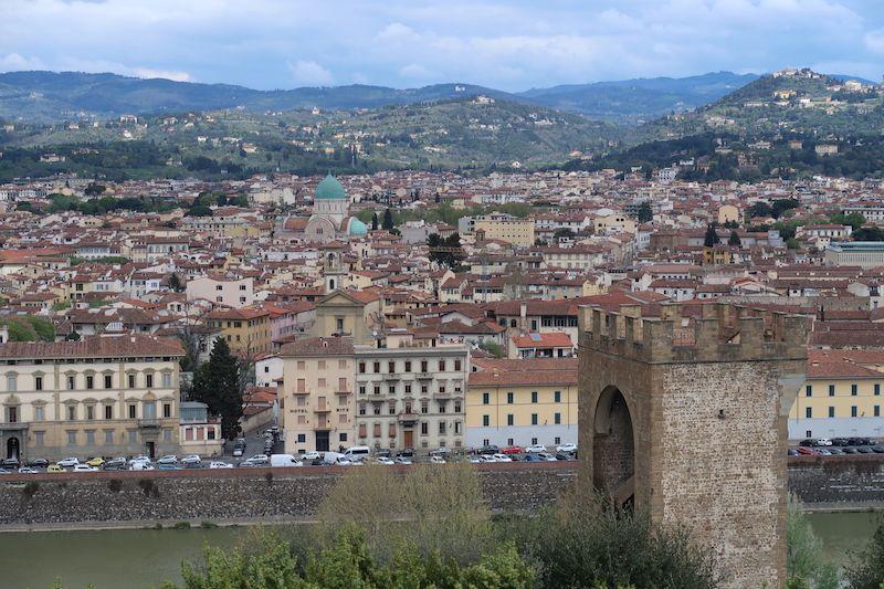Las mejores vistas al otro lado del Arno