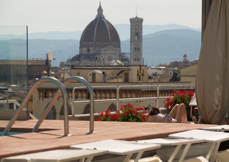 Un hotel con vistas en Florencia