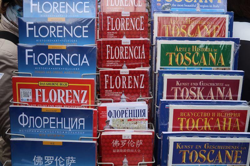 folletos de Florencia