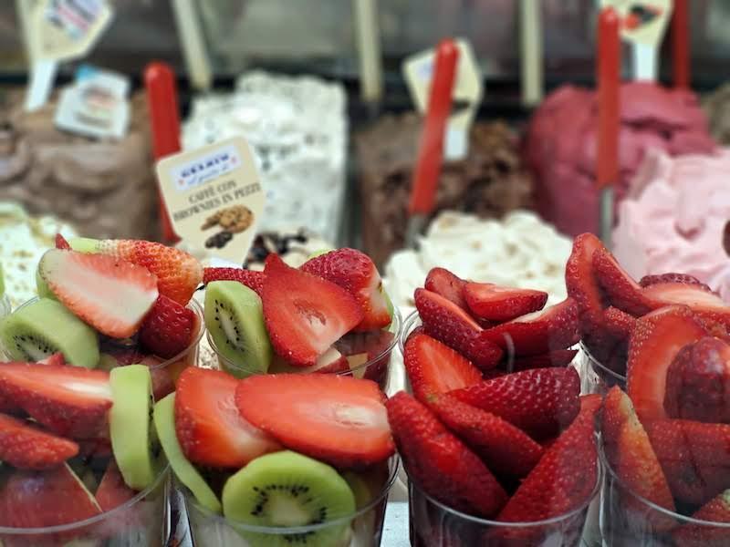 helados en Florencia
