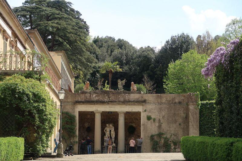 jardines del palacio Pitti