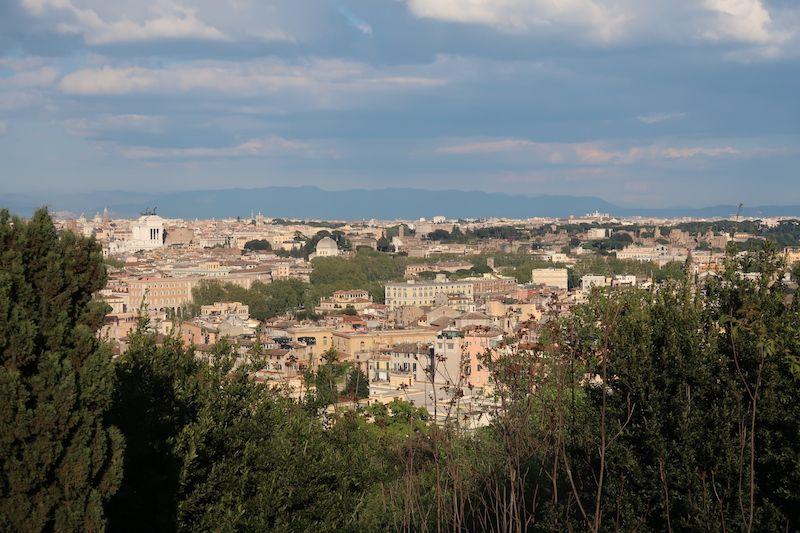 Roma desde el Gianicolo