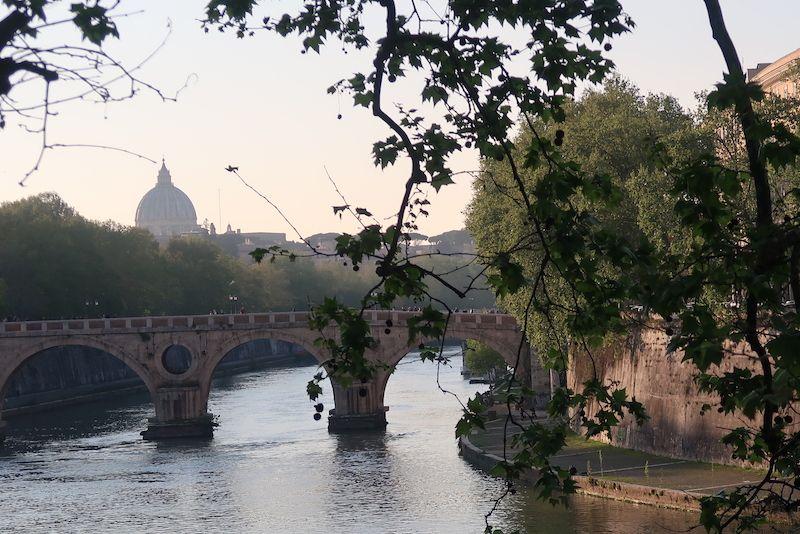 Vaticano desde los puentes