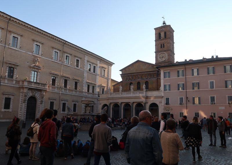 Plaza de Santa Maria del Trastevere