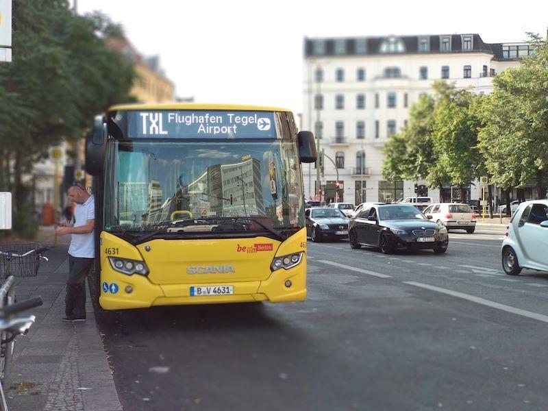 buses en berlín