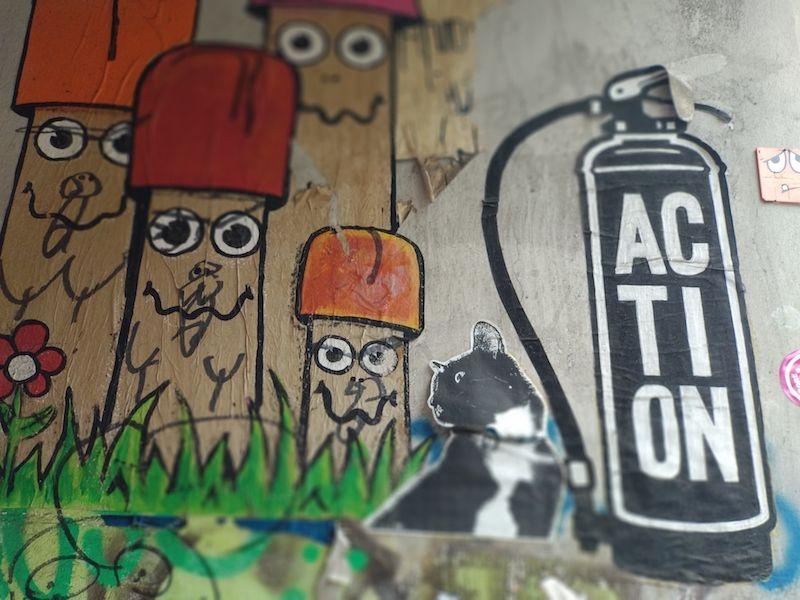 Cosas curiosas del muro de Berlín