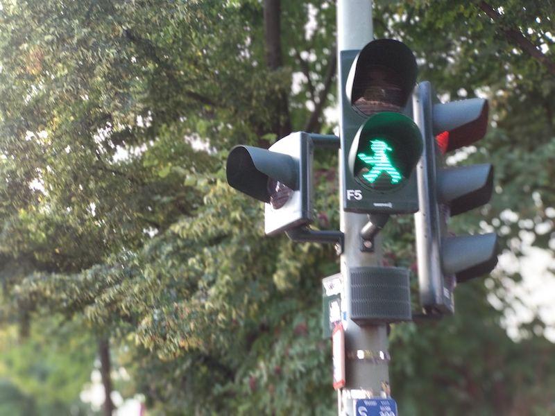 pasos de peatones curiosos Berlín