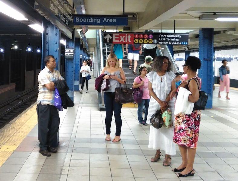 cómo es el metro de Nueva york