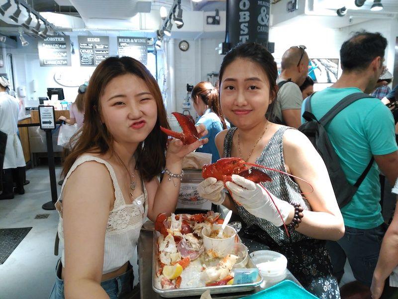 comer langosta en chelsea market