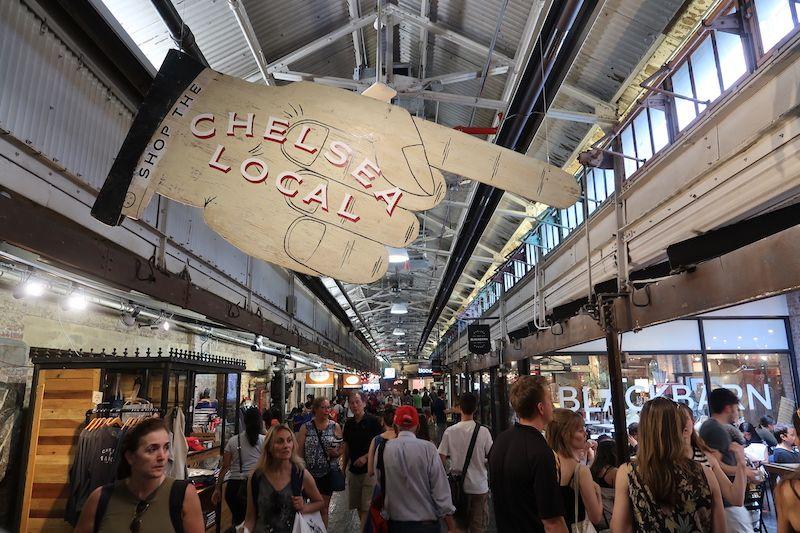 mercado gastronómico de chelsea