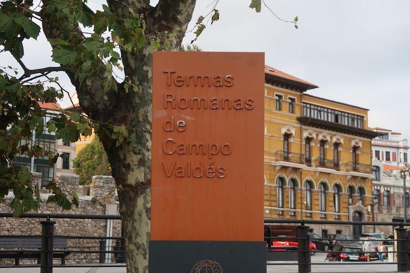 termas romanas Gijón