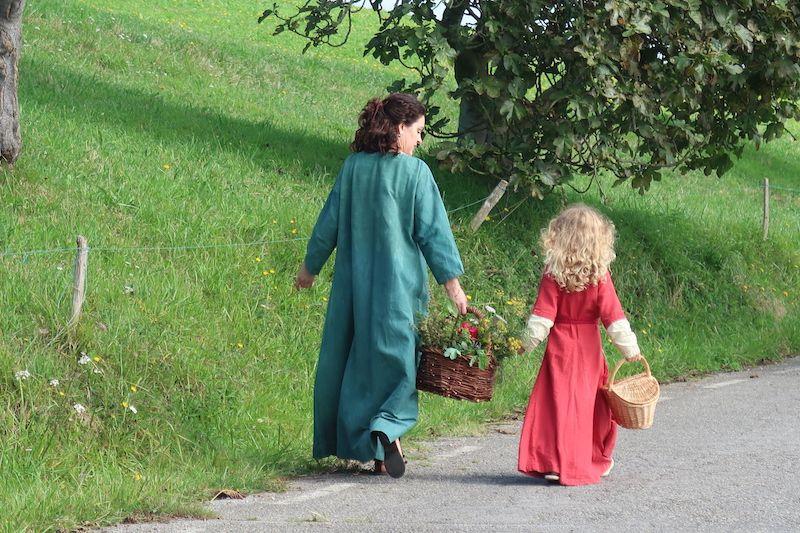 Vía de la Plata con niños