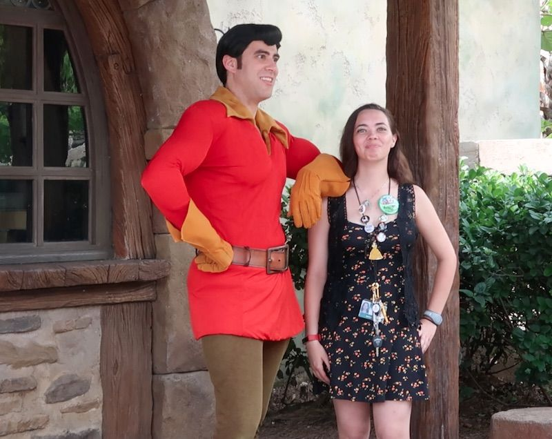 Encuentro con Gaston en Magic Kingdom
