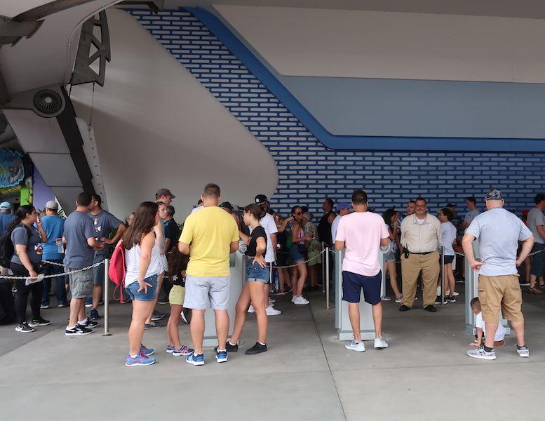 Puesto de FastPass en Disney Orlando