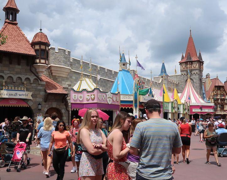 La primera vez en Magic Kingdom