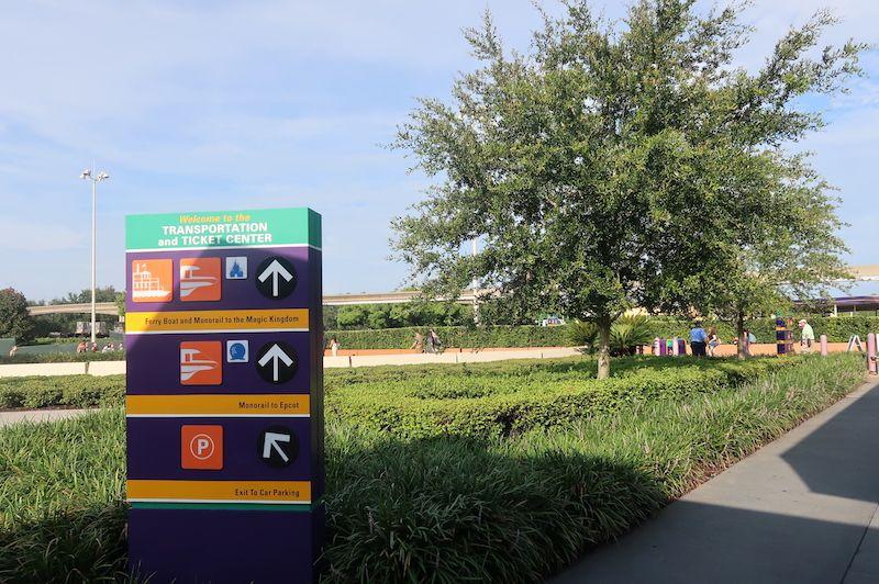 Dónde aparcar en magic Kingdom