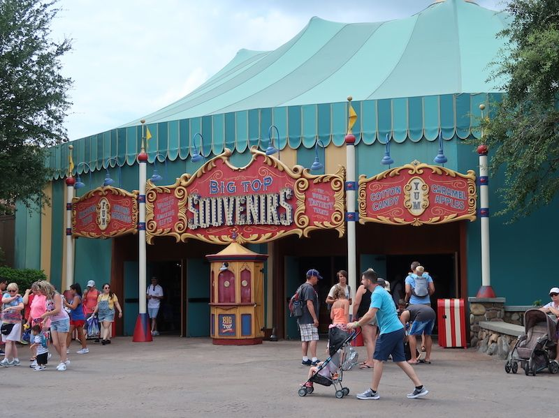 souvenirs en Magic Kingdom